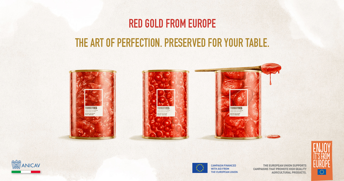 The art of perfection. Preserved for your table European preserved tomatoes landed in New York and Chicago!